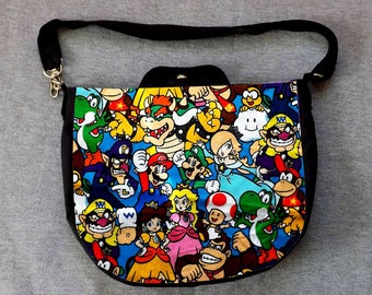 Pack Mario Character Cross Body Purse Messenger Bag