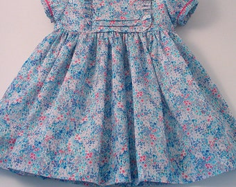 """Liberty """"Poppy's Meadow"""" Frilly Dress"""