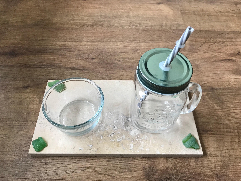 gallery photo gallery photo ... & Tableware. u201cHappy Houru201d Platter Genuine Sea Glass Bottle Rims on ...