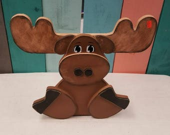 Moose Christmas craft