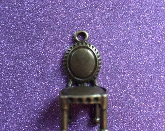 2 Tibetan Style Antique Bronze charm charms