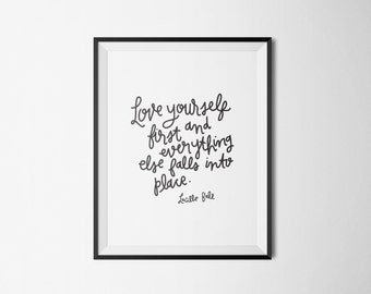 printable wall art quotes // 8x10 print // wall art // Lucille Ball quote // I Love Lucy // home decor // printable