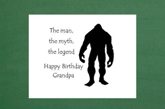 Happy Birthday Grandpa Grandpa Birthday Card Grandfather
