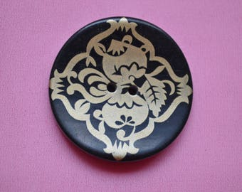 large button round 28mm