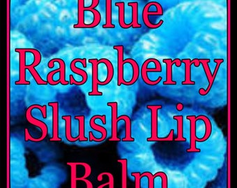 Blue Raspberry Slush Lip Balm