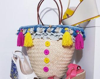 Beach and city basket