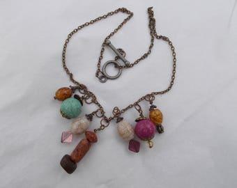 Earthtone necklace