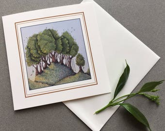 Forest Bells Greeting Card