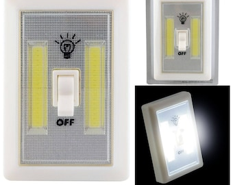 2 x switches / switches to COB wireless Led 2W 1V to batteries In-Outdoor