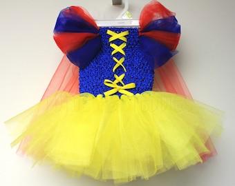 Snow White / costume / Tutu Dress / Halloween / Fairy Tale / Baby / Newborn / Child /Toddler/ Photo Prop / princess