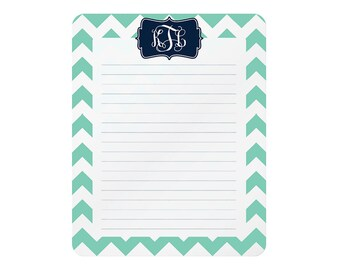 monogrammed dry erase memo boards • 8 x 10 • steel : design your own