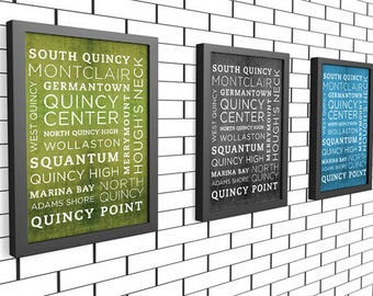 Quincy Poster - 11x14