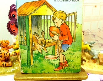 Vintage Ladybird Book The Runaway Bunny Rabbit Bobbity Series 401 Lovely 1950s Childrens Bedtime Story