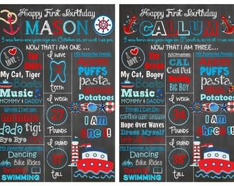 Nautical Birthday Theme