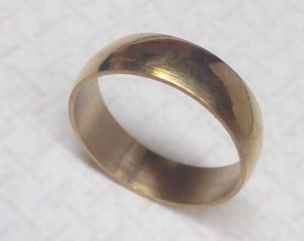 Ring band gold