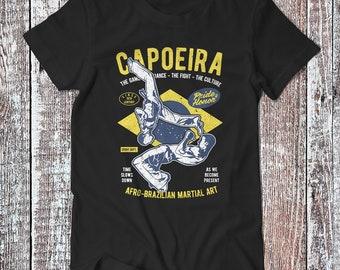 Brazilian Capoeira , CapoeiraTee , Martial Art T-shirt , Sport Shirt