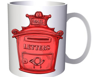 Mail Box Letters 11oz Mug a783