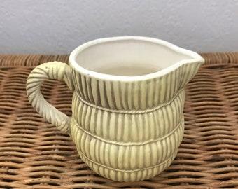 Vintage Georges Briard Tisket Tasket Creamer Japan Stoneware