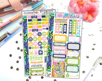 Under The Sea Personal Sized Kit | Planner Stickers