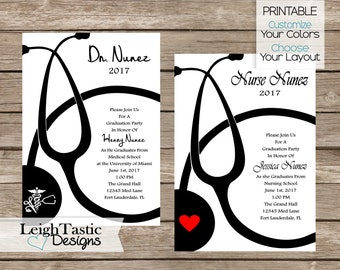 Nursing graduation invitation medical school graduation sale medical graduation doctor graduation nurse pinning nursing graduation invitation graduation party doctorate graduation rn phd filmwisefo