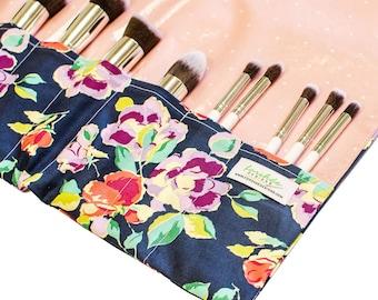 makeup brush holder makeup organizer cosmetic brush roll