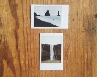 instant film photo set >> Vik, Iceland