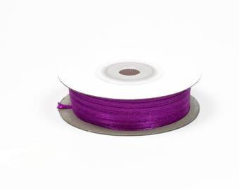 3mm - reel 50 m ref 467 LILAC satin ribbon