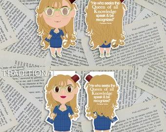 Penelope Garcia Magnetic Bookmark | Criminal Minds Bookmark