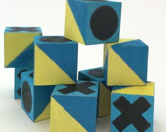 DIY Craft Kit: Wooden Blocks