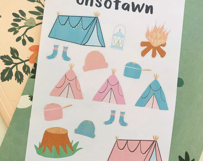 Camping Stickers!