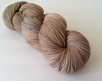 Baah La Jolla Yarn Color Hazelnut      Hand Dyed Premium Artisan Yarn!    400 Yards! Regular Price 29.00