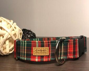 New Brunswick Tartan Dog Collar