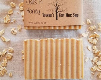 Oats 'n Honey -Goat Milk Soap