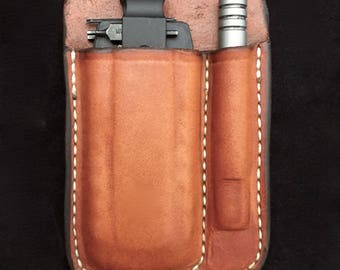 Pocket sheath for leatherman bit kit