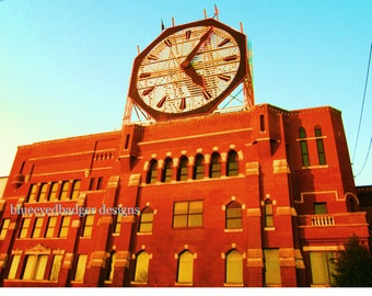 The Colgate Clock, color photography, Clarksville, Indiana, Louisville, Kentucky, PoM team, PoE team