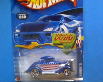 Hot Wheels 1934 Ford 3-Window  Star Spangled new on card