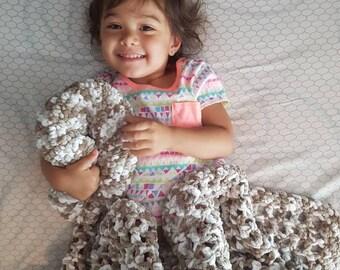 Softest Baby Crochet Blanket Afghan Bernat Baby Yarn