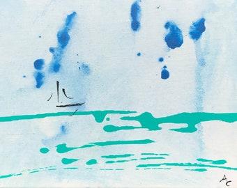 Boat #2 (8X10 Original Painting)