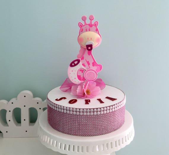 Adorable Giraffe Baby Shower Centerpiece Foam Decorations For