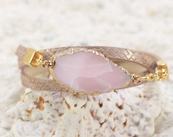 Bracelets pierres précieuses Bracelet Wrap Bracelet Femme pour les femmes naissance Bracelet cadeau d'anniversaire pour son cadeau de bijoux de pierres précieuses pour les femmes à la main