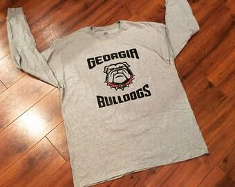 Georgia Bulldogs men's long sleeve