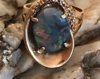 Opal and 14k Ring