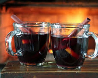 Old Fashion Mulled Cider or Wine Blend-Comforting Star Anise, Ginger, Cinnamon & Spices to Warm your Tummy!
