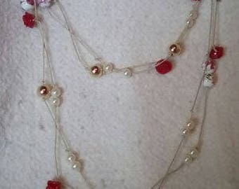 Junk Drawer Necklace: Roses