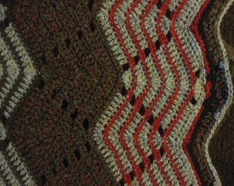 Beautiful Ripple Afghan