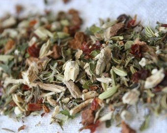 Citrus Lemon Balm Loose Leaf Herbal Tea Blend