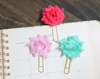 Planner Paperclips - Planner Accessories - Paperclips for Planners - Gold Paperclips - Planner Clips - Bridal Shower Favors - Party Favors