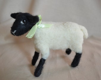Needle Felted Lamb, Felted Sheep