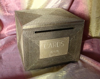 Wedding Card box, card box, card box for wedding