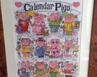 Calendar Pigs picture